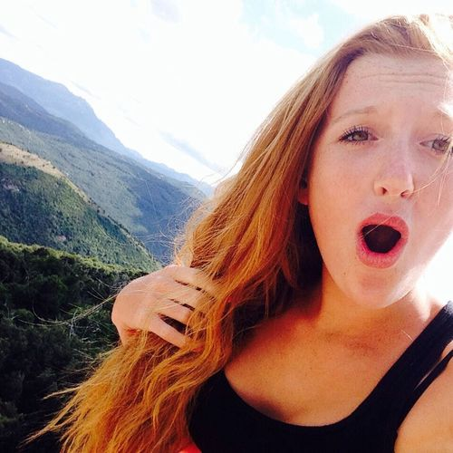 Selfie montagne? Selfie Ginger That's Me Summer
