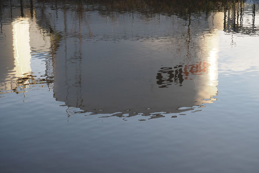Cold Cold Temperature Ecology Energy Fossil Energy Fuel Nature Oil Oil Tank Outdoors Reflection Rippled Water Water Reflection Waterfront Winter