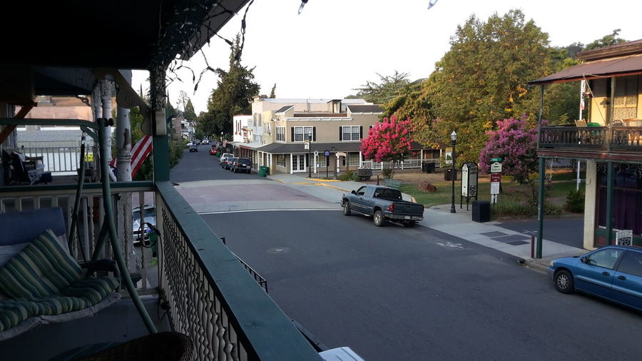 No People City Street Architecture Jamestown Ca California Old Town Quiet Place