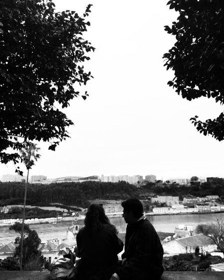 the prettiest couple Eye4photography  EyeEmBestPics EyeEm Best Shots EyeEm Gallery EyeEm Best Edits EyeEm Best Shots - Black + White Couple River ShotOniPhone6