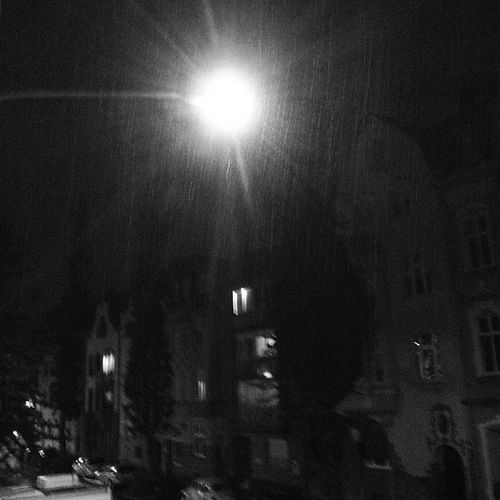 #rain #dark #night #light #street #mg #rheydt Street Night Light Rain Dark MG  Rheydt