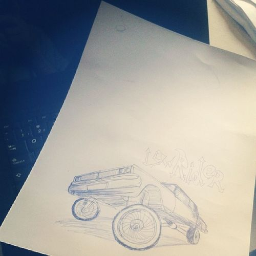 Rabiscos k Draw Handrawing Lowrider Latinculture
