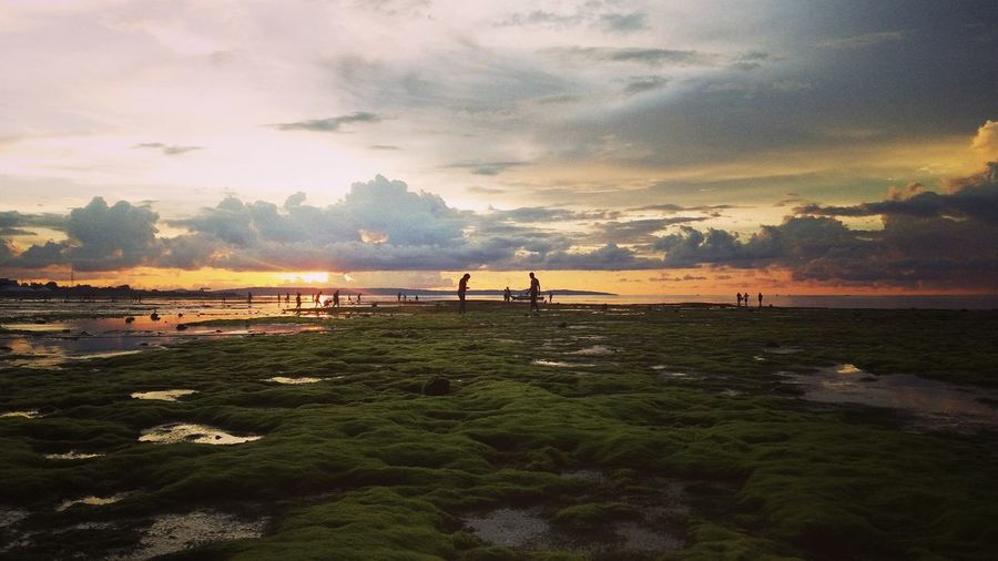 Sotis Beach this evening Sunset Tourism Vacations Tree Travel Destinations Nature River Beauty In Nature Water Landscape Outdoors Scenics Sky Urban Skyline People First Eyeem Photo