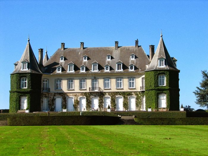 Architecture Building Exterior Built Structure Cultures Landscapes Nature_collection Gardens Garden Photography Garden Architecture Garden Flowers Brussels❤️ Brussels Belgium La Hulpe Park View Belgium Travel Destinations No People Grass Outdoors Architecture_collection Government City Clear Sky Sky Day