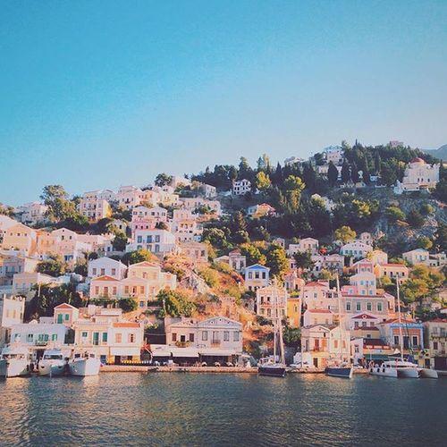 Trimaran Symi  Greece Dhodhekanisos EyeEm Summer Benetau Helia44 Catamaran Sailing