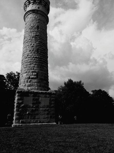Chickamaga Battlefield Civil War Fort Ogelthorpe Georgia Northvssouth Brightanddark Tower
