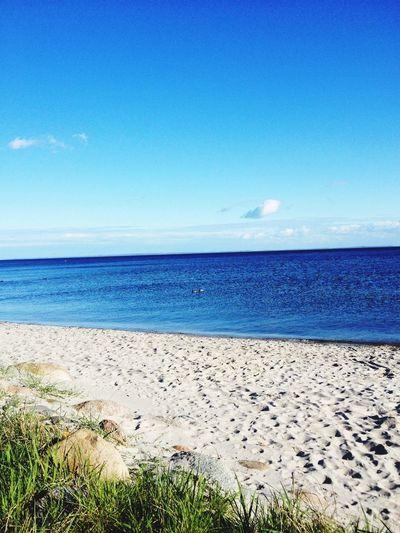 Ostsee Strand Schönes Wetter 2Enten :)