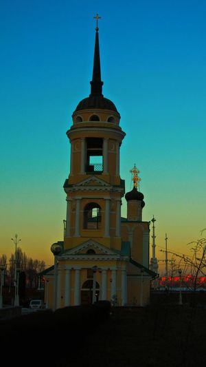 City Amazing Sky Russian Old Temples...
