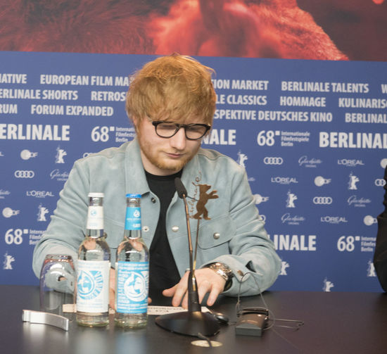 Berlin, Germany - February 23, 2018: English singer, songwriter, guitarist and record producer Ed Sheeran attends the 'Songwriter' press conference at 68th Berlinale Film Festival Berlin 2018 Artist Celebrity Ed Sheeran Ed Sheeran <3 Ed Sheraan❤ Famous Singer  Singer/Song Writer Berlinale Berlinale 2018 Berlinale Festival Berlinale2018 Berlinale68 Celebrities Communication Conference Famous People Front View Mass Media One Person Portrait Press Conference Singer And Artist Song Writer Waist Up