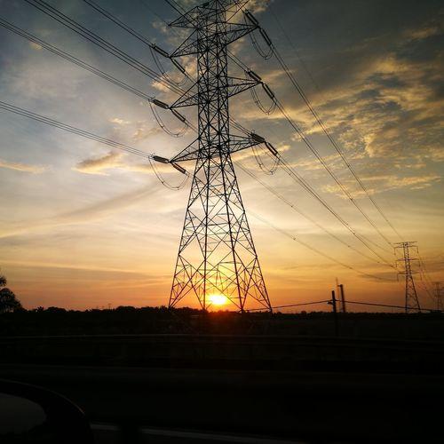 Sunset 20 Dec