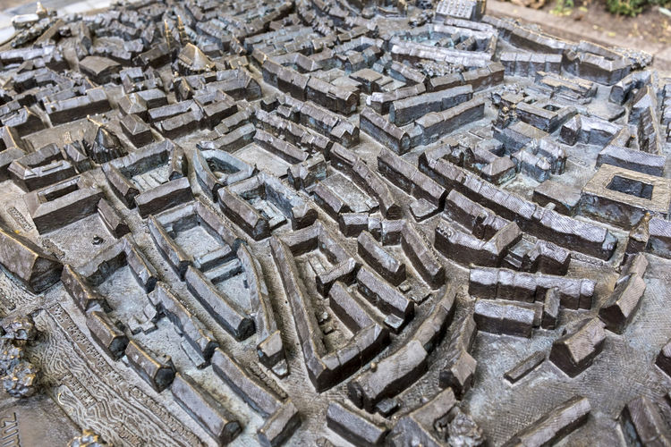 Nürnberg historic center, bronze model Bronze Cityscape Historic Center Nuremberg Nürnberg Architecture Backgrounds Built Structure City Model Close-up Concrete Diorama Focus On Foreground Full Frame Gray High Angle View History Miniature No People Old Outdoors Pattern Solid Street Textured