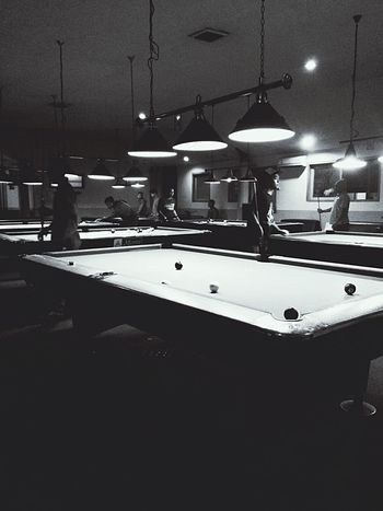 King Of 8-ball Playing Pool Getting Competitive Nightphotography Nightlife
