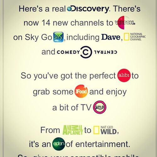 Clever email from the folks @skyhd .... Simple yet effective Skygo Ondemand