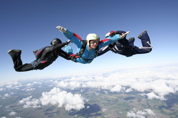 Accelerated Freefall Adventure Aff Challenge Courage Excitement Exhilaration Extreme Sports Falling Flying Fun High Up Learn To Skydive Learning To Fly Learning To Skydive Mid-air Recreational Pursuit Sky Skydiving