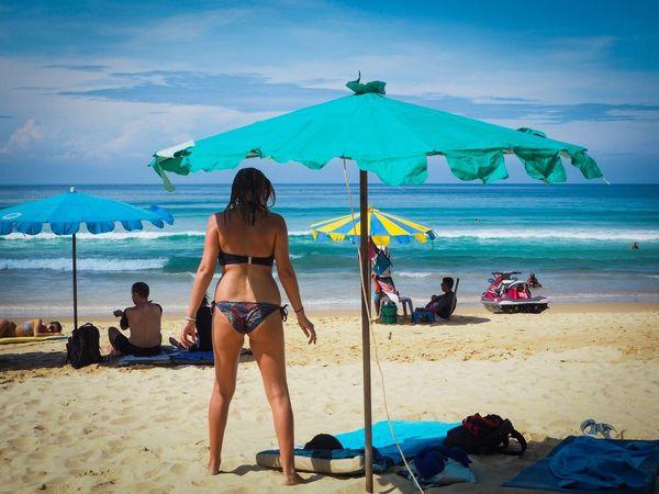 Beach Sea Vacations Women Sand Bikini Sky Summer Beauty Nature Tanning Outdoors My Year My View Phuket