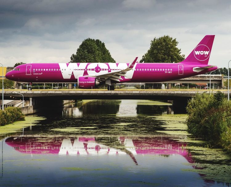 Airbus 321N WOw airline airbus a321 airplane schipolairport aircraft wowair WOW Text western script communication water sky day Transportation first eyeem photo EyeEmNewHere Airbus A321 Airplane Schipolairport Aircraft Wowair WOW Text Western Script Communication Water Sky Day Transportation