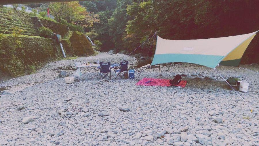 平日で、シーズンオフだからか、貸切バーベキュー♡ BBQ BBQ Time Riverside Relaxing Enjoying Life Good Times Holiday Natural Happy Sunny Day