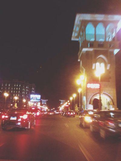 Alexandria, Awel El Raml El Maimony City Lights Enjoying Life Beautiful Night Saturday Night Mobile Photography Hello World With Friends