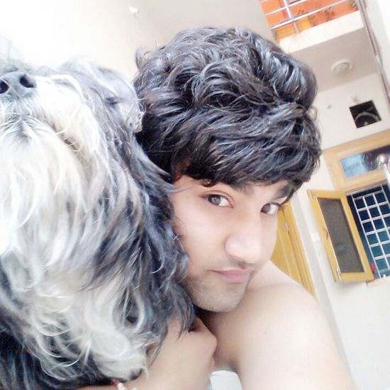Hi! That's Me With My Baby Selfie✌ Doglover