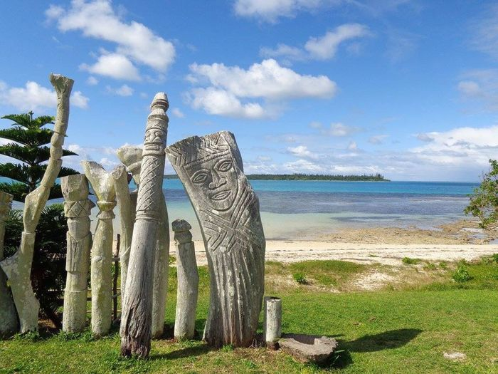 Île des Pins, isle of pines, New-Caledonia Dream New Caledonia Isle Of Pines Colors Sky Cloud - Sky Sea Water Land Beach Beauty In Nature