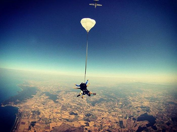 Skydiving Skydiving Argentario Maremma Italy Bluesky Deep Falling Tandem LiveTheDream Befree Openarms Beatthefear Livingthedream Volare
