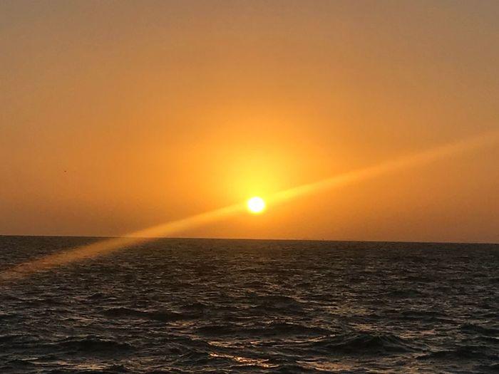 Sunset Beautiful Day Sunrise St Petersburg, Florida Vinoy Park Sea Water Sky Scenics - Nature Horizon Over Water EyeEmNewHere Horizon Tranquility Beauty In Nature Orange Color Sun No People Sunlight Non-urban Scene Nature Idyllic Waterfront Tranquil Scene Outdoors