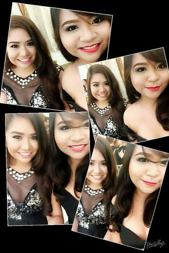 A night to remember 😊 with my friend, Ate Icon 😊 Happy Throwback❤