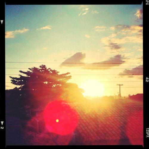Cityscapes Belo por do sol !