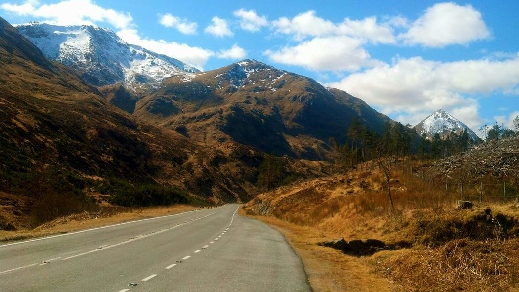 Nature_collection Mountain_collection Snow Scottish Highlands Scotland Kintail Magical Place