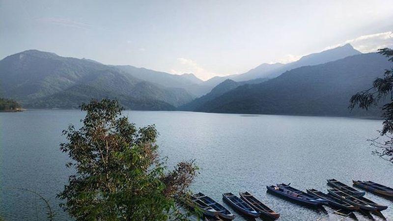 Landscape Shot On Nokia  808  Papanasam Dam Boating Nokia808