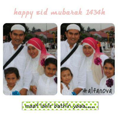 Happy eid mubarak... Alfanova Lebaranpsp Tepocece