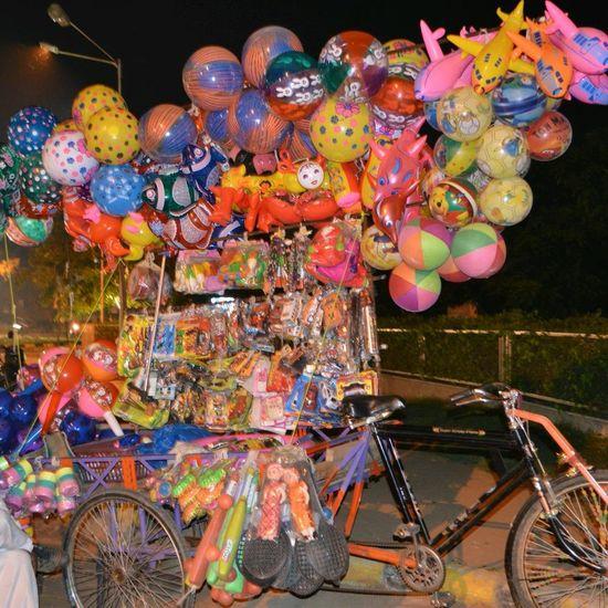 Ballons Colors Bicycle Eye Em!