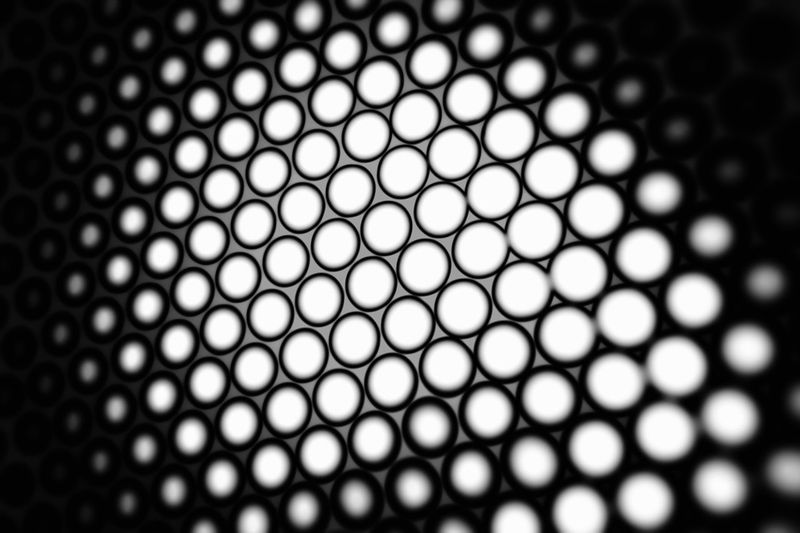 Black and white honeycomb background with blur effect Business Futuristic Grid Logistics Service Modern Processor Service Shape Bitcoin Blockchain Cell Coin Concept Crypto Crystal Cell Design Digital Geometric Hexagon Ico Logistic Mining Steel Structure Token 10
