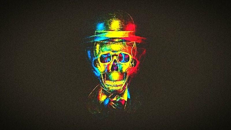 Skull paper Skullart Skullface Skulls & Bones SkullOfTheDay Skulls 💀