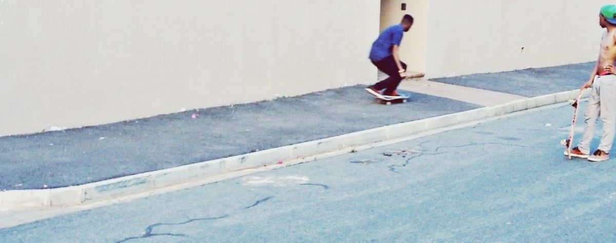 Skateboarding Steez