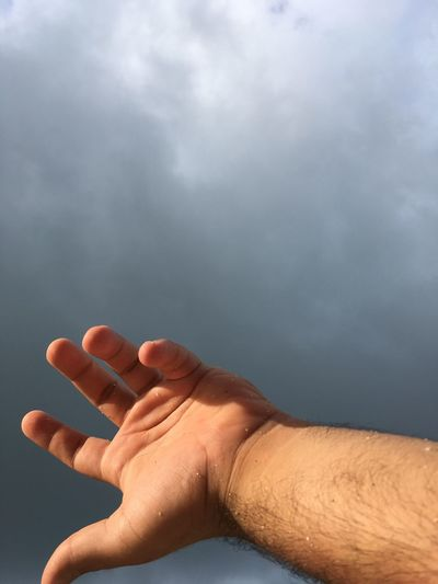 No Filter Human Hand Human Body Part One Person Real People Close-up Day Lifestyles Sky Men Outdoors People