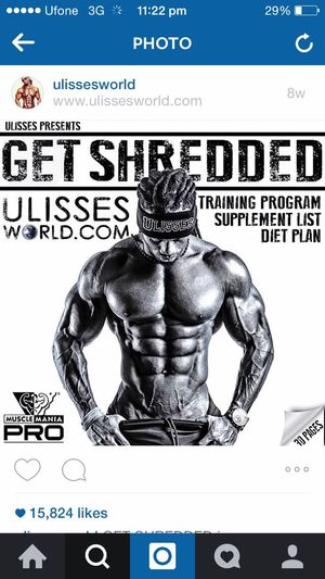 @ulissesworld Abs 6abs Workout Workout#gym#fitness