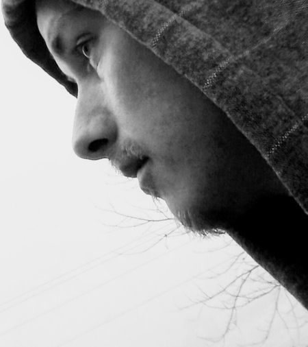 Human Face Close-up People Young Adult One Person Self-portrait Black And White Always Be Cozy