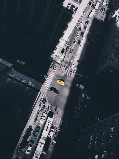 Cityscapes Street Chicago Yellow Cabs Light And Shadow Chasing The Street Photographer - 2016 EyeEm Awards
