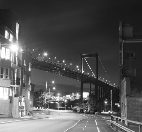 Götaälvsbron Bro Bridge Nightphotography Night Lights Long Exposure Afterlight Canonphotography Streetphotography Gothenburg Sweden Rödasten