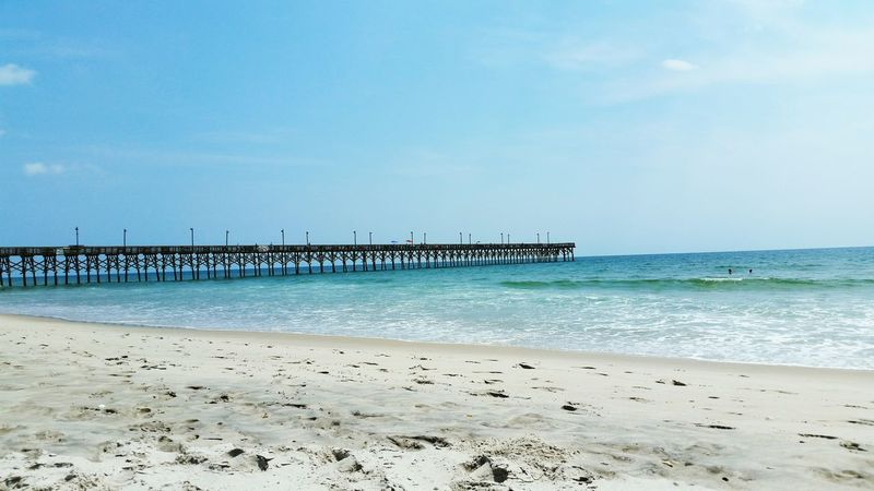 Ocean Enjoying Life Beachphotography Boardwalk Nature Photography Check This Out Taking Photos Relaxing Oceanlife Sandy Beach Learn & Shoot: Simplicity Pier Fishing Pier Enjoying Nature Enjoying The Sights Ocean Life Atlantic Ocean On The Beach