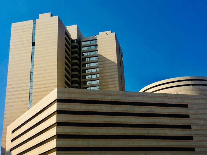 Architecture Built Structure Building Exterior Sky Building Low Angle View Clear Sky City Day Office Building Exterior
