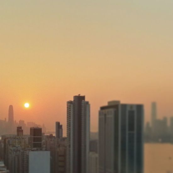 It's just all about Sunsets recently Redfuse ICC IFC onlyinhk HK