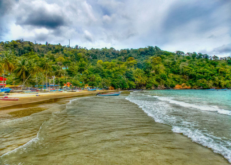 Waves, Ocean, Nature Maracas Beach Beachphotography Hdrphotography Trinidad And Tobago Tourist Attraction  Tourist Destination Tourism Beach Photography Sea And Sky Island Life Boats⛵️ Fishing Village The Essence Of Summer The Essence Of Summer - 2016 Eyem Awards The Essence Of Summer- 2016 EyeEm Awards