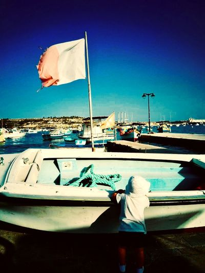 Malta Puerto Pesquero Barco De Pesca Barco De Madera Boat Wood Boat Baby Malta My Best Travel Photo