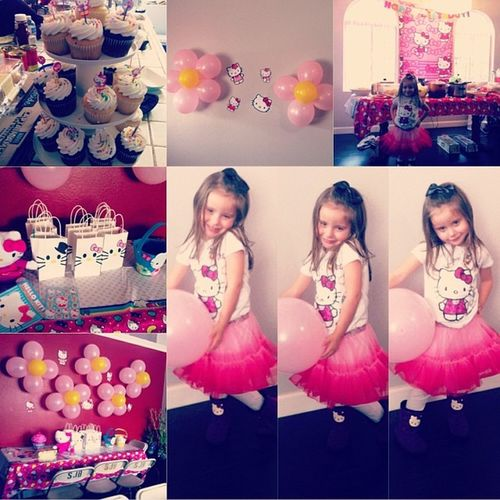 Bella's 4th birthday. ? Hellokitty Bellaboo