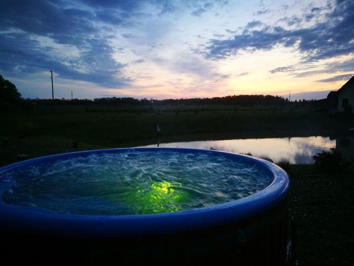 hot tub Water