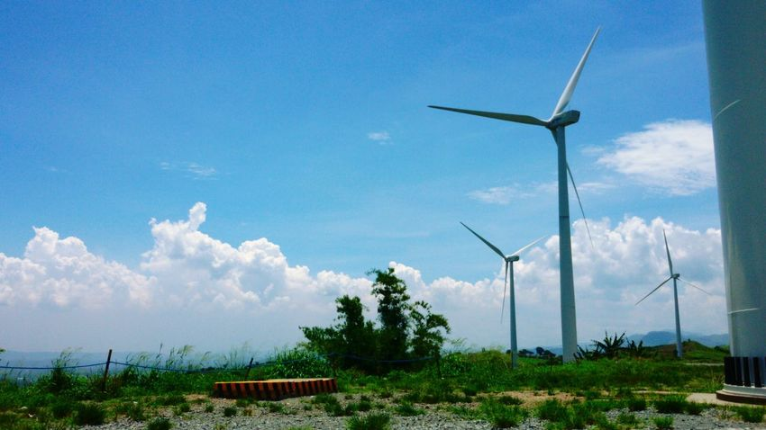 Windmill.. Electricity  .. Pililia Rizal Wind Farm .. philippines
