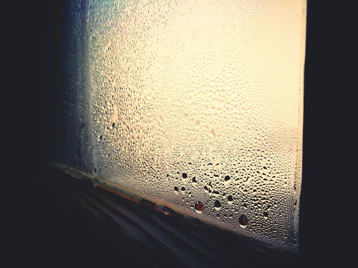 Indoors  Window No People Close-up Textured  Frosted Glass Day Raindrops Water Glass Foggy Sad Low Angle Shot