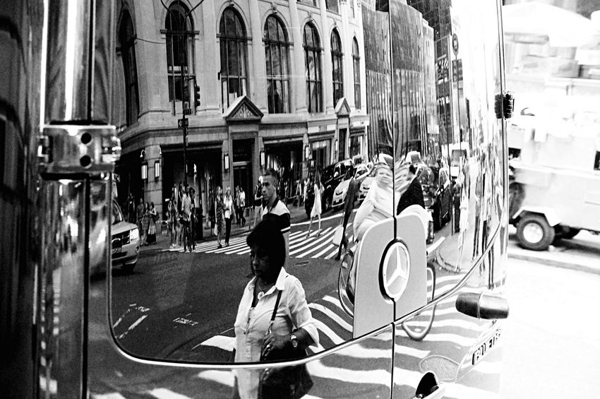 EyeZoom Reflected Glory Finding The Next Vivian Maier NYC Photography Streetphotography_bw The Street Photographer - 2015 EyeEm Awards The Action Photographer - 2015 EyeEm Awards Peoplephotography Reflection Streetphotography